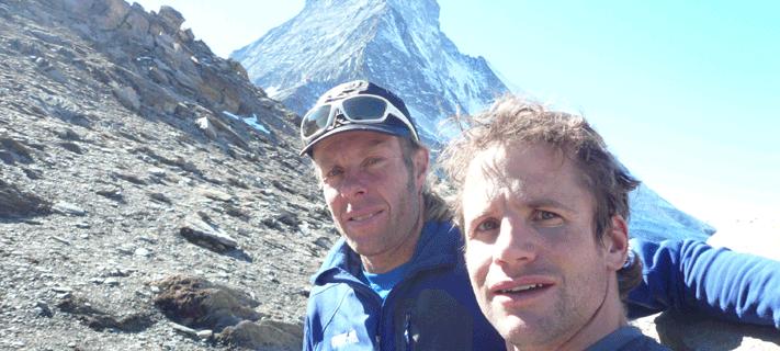 Roger Schaeli Robert Jasper Matterhorn-Nordwand