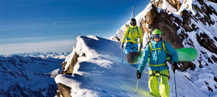 Climb to Ski Camp 2 St. Anton am Arlberg