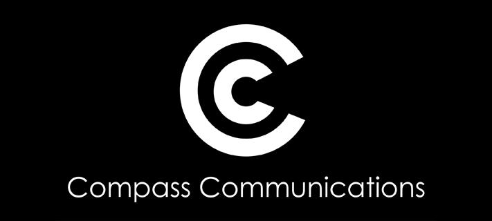 CC Logo mit Schrift w/s